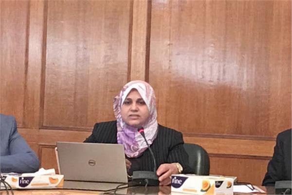 الدكتورة ايمان السيد رئيس قطاع التخطيط بوزارة الري