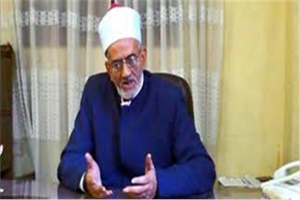 الشيخ محمد صالح عبد الرحمن وكيل وزارة الأوقاف بمحافظة الأقصر