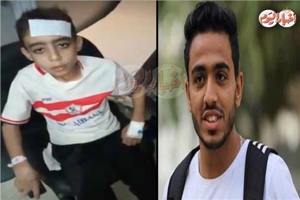 الطفل أحمد و محمود كهربا