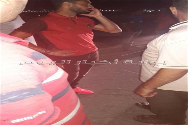 أحمد فتحي بعد الحادث