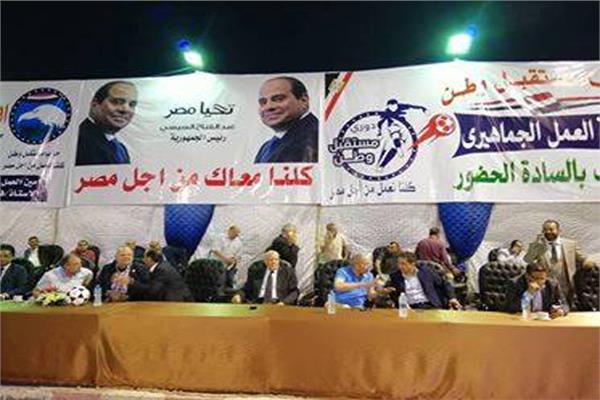 الأغاني الوطنية تسيطر على أجواء دوري مستقبل وطن بحي الأسمرات