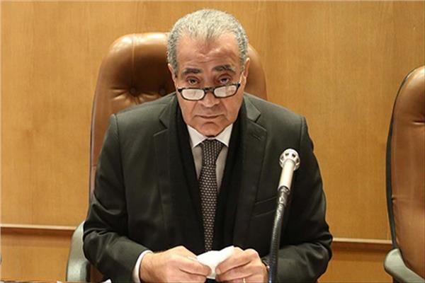 وزير التموين والتجارة الداخلية د.علي المصيلحي