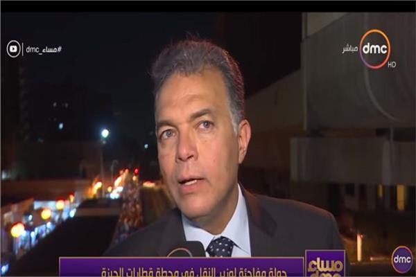 وزير النقل الدكتور هشام عرفات