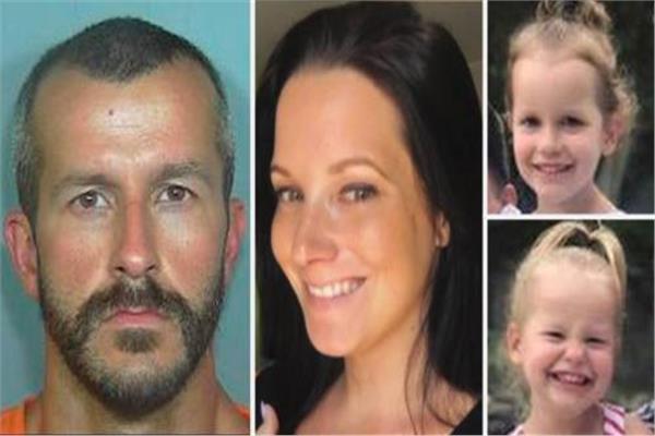 أمريكي يقتل زوجته الحامل وابنتاه