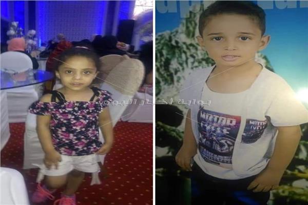 الطفلان المتوفيان عبد الرحمن وساندي