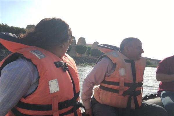 محرز تبحث مشاكل الصيادين في بحيرة مريوط