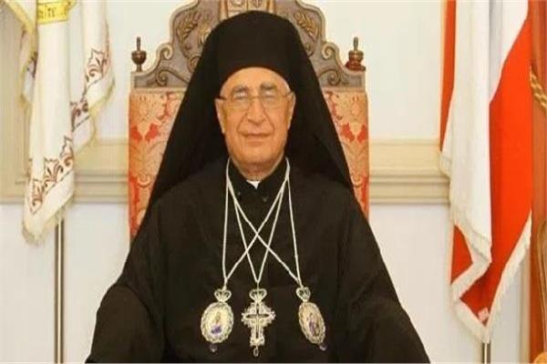 بطريرك الروم الكاثوليك يهني الرئيس بعيد الاضحي