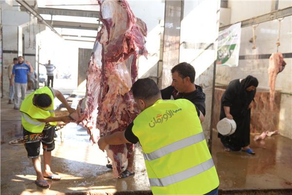 الأورمان تبدأ في ذبح أضاحيها بمحافظة الغربية