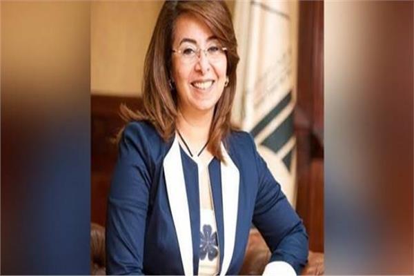 وزيرة التضامن الاجتماعى غادة والي