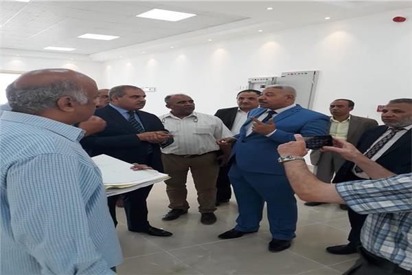 رئيس جامعة الأزهر يتفقد مقر مجلس الجامعة الجديد بمدينة نصر