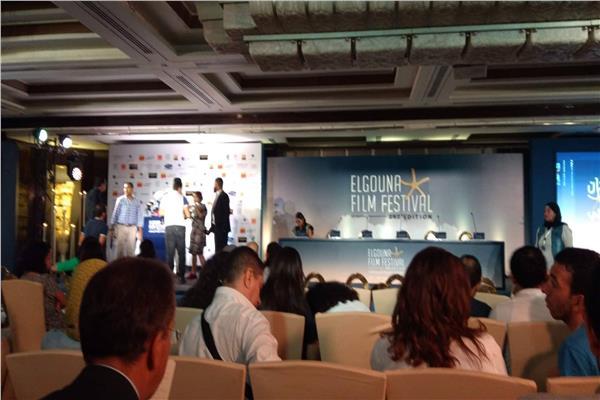 انطلاق المؤتمر الصحفي لمهرجان الجونه السينمائي