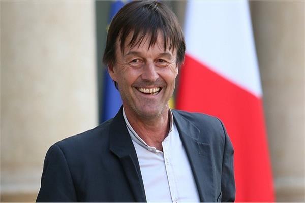 وزير البيئة الفرنسي نيكولا هولو