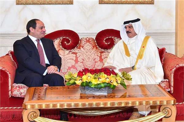 زيارة الرئيس السيسي للبحرين
