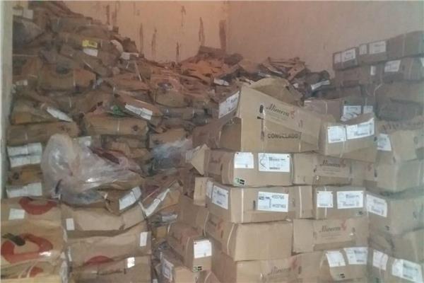 ضبط 15 طن كبدة غير صالحة للاستهلاك الأدمي بالإسكندرية