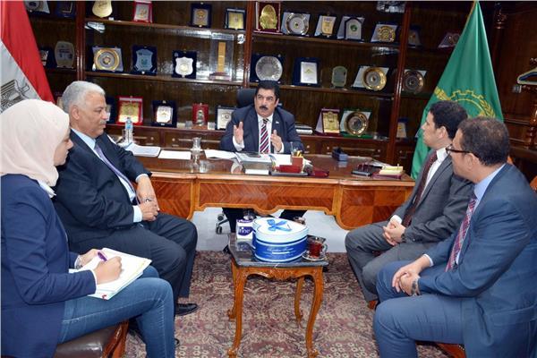 د. علاء مرزوق محافظ القليوبية