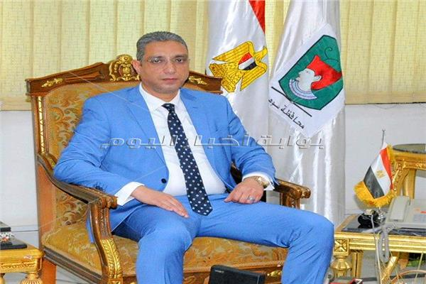 محافظ سوهاج د. أحمد الأنصاري