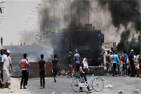 اشتباكات مع قوات الأمن بالعراق
