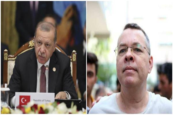 القس آندرو برانسون ورجب طيب أردوغان