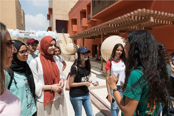 الجامعة الأمريكية تستقبل 1110 طالبا في العام الدراسي الجديد