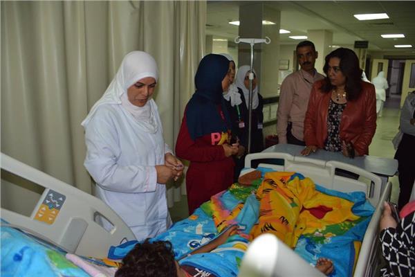 محافظ دمياط تقوم بزيارة مفاجأة لمستشفى طوارئ كفر سعد