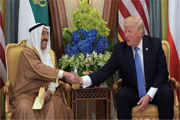 الرئيس الأمريكي وأمير دولة الكويت
