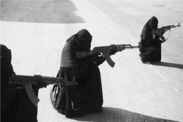 نساء داعشيات - أرشيفية