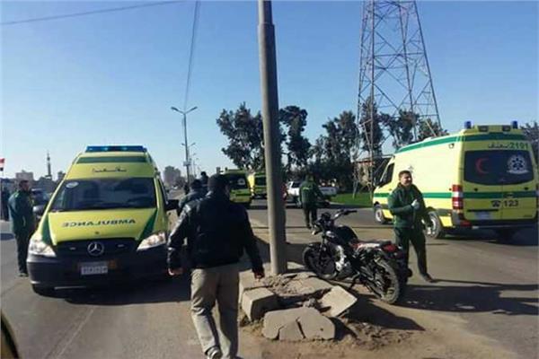مصرع واصابة 21 شخصا فى حادثين بالشرقية