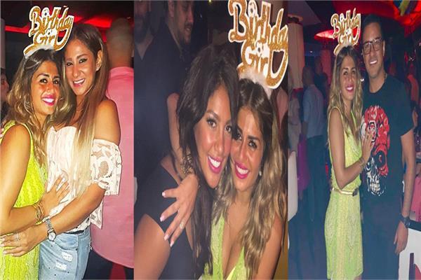 منة فضالي تحتفل بعيد ميلادها الـ 35