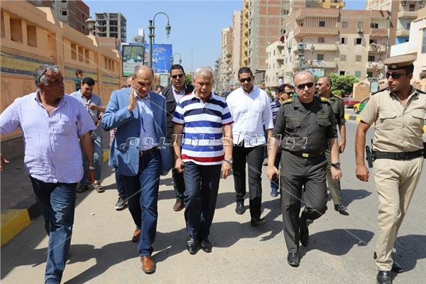 محافظ المنوفية يتفقد الإستعدادات النهائية للمستشفي العسكري بشبين الكوم