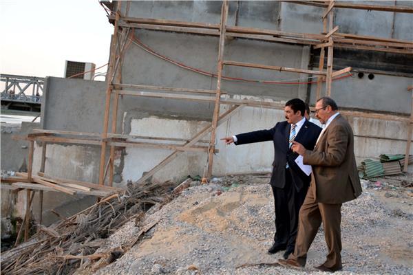 محافظ القليوبية يتفقد ممشى النيل الجديد بمدينة بنها