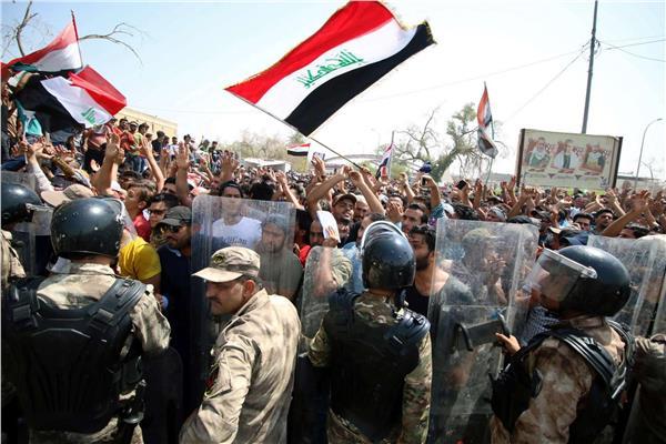 احتجاجات مدينة البصرة العراقية