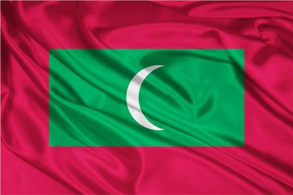 علم جزر المالديف