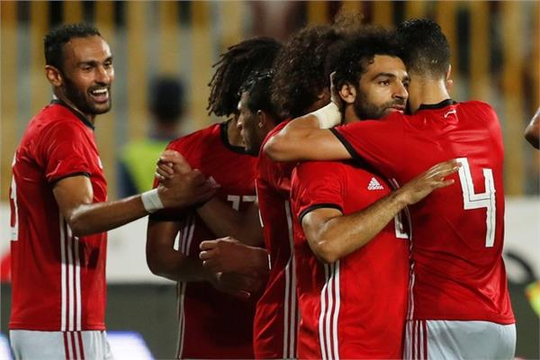 فرحة مصرية بالفوز على النيجر