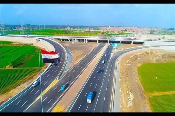 بدء حفل افتتاح الطريق الدائري الإقليمي بأيات قرآنية