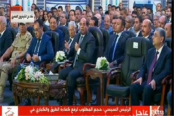 الرئيس السيسي غاضبًا لـ«رئيس الوزراء»: «هي دي فتحة كوبري!»
