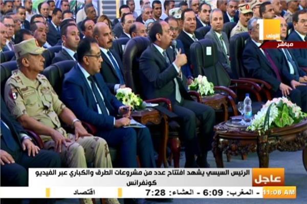 الرئيس السيسي لـ محافظ القاهرة: «خلي بالك من عمدان طريق المطار»
