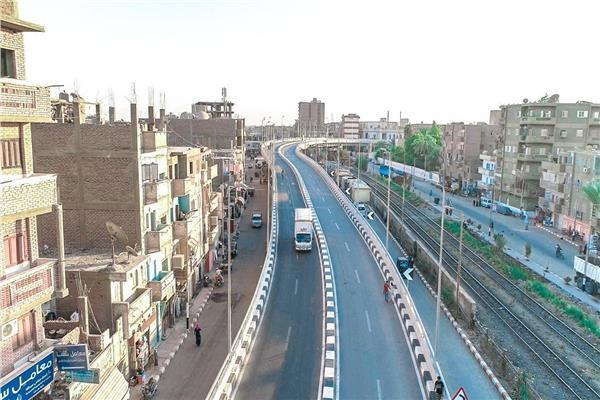 «النقل» تعلن تفاصيل5 مشروعات افتتحها السيسي بـ«الدائري الإقليمي الجديد»