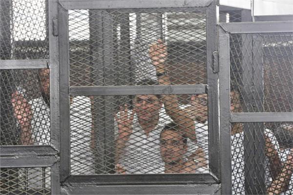 جانب من محاكمة غرفة عمليات رابعة