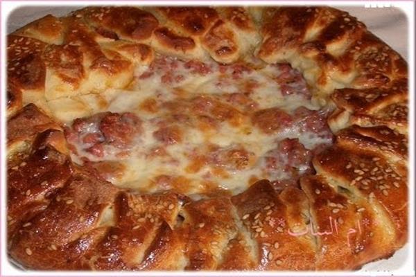 فطيرة البيتزا