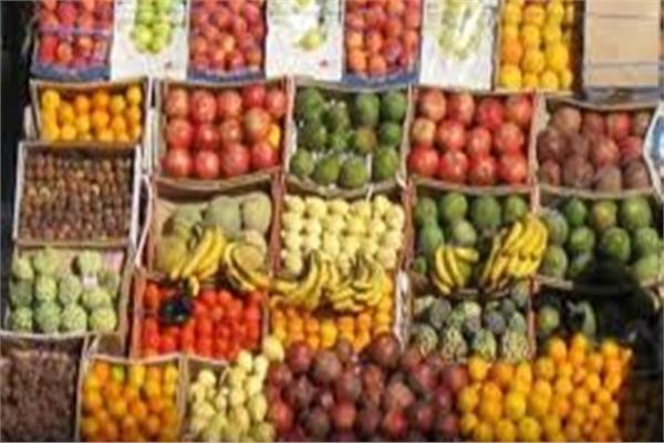 ثبات أسعار الفاكهة في سوق العبور اليوم
