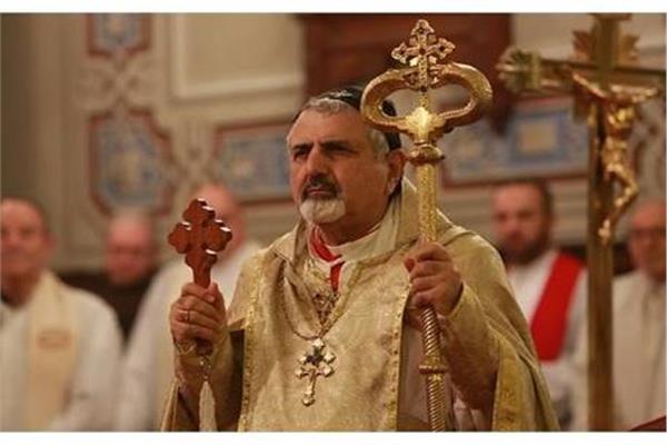بطريرك السريان الكاثوليك يحتفل بالقداس الإلهي بكاتدرائية سيدة الانتقال في حلب