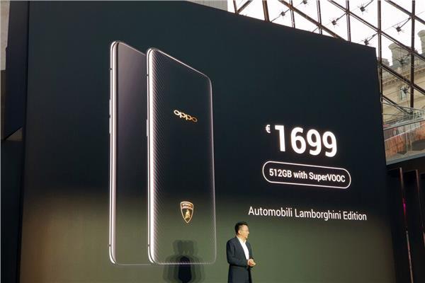 إطلاق نسخة لامبورجيني من هاتف OPPO Find X