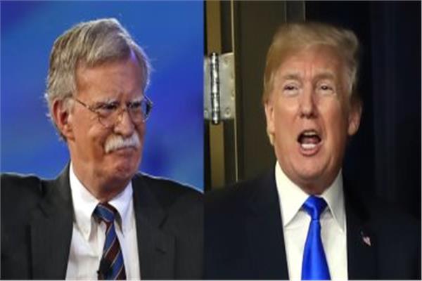 دونالد ترامب وجون بولتون