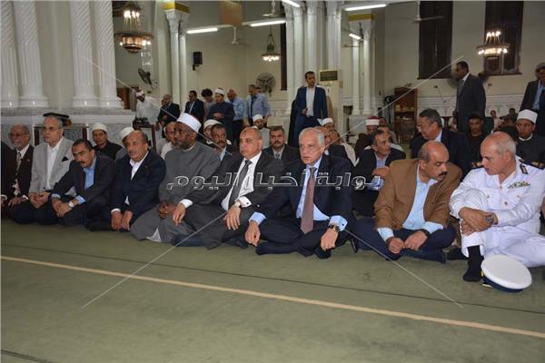 محافظ الجيزة يشهد الإحتفال بالعام الهجرى الجديد بمسجد الصباح بحى الهرم