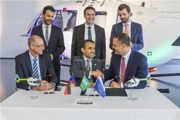 توقيع عقد بيع 5 طائرات عمودية لأرامكو السعودية