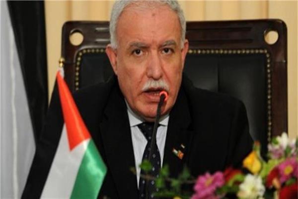 رياض المالكي وزير الخارجية وشئون المغتربين الفلسطينيين