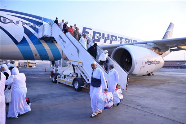 مصر للطيران: غداً ختام رحلات عودة الحجاج من جدة