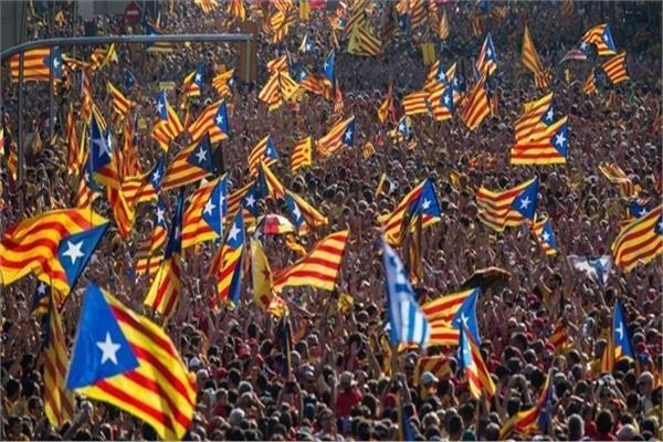 مظاهرات في كتالونيا
