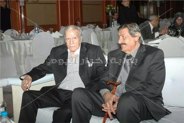 أحمد رجب برفقة مصطفى حسين