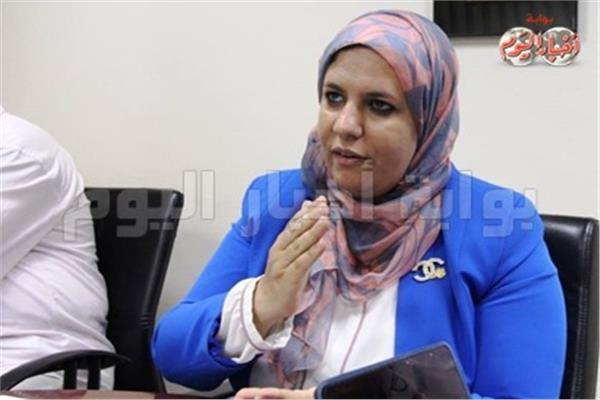 رئيس الإدارة المركزية للشئون الصيدلية د.رشا زيادة